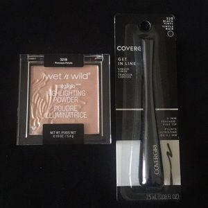 Other - Highlighting powder & liquid eyeliner